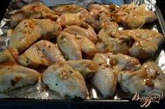 «Куриные крылышки с кленовой глазурью» - приготовления блюда - шаг 3