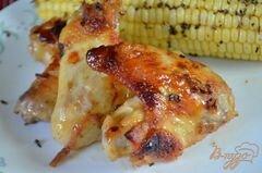 «Куриные крылышки с кленовой глазурью» - приготовления блюда - шаг 4