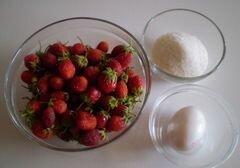 «Клубничный десерт» - приготовления блюда - шаг 1