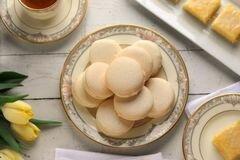 «Лимонные макароны с кремом» - приготовления блюда - шаг 19