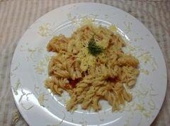 «Макароны с овощным соусом» - приготовления блюда - шаг 6