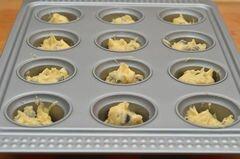 «Маффины с шоколадными чипсами» - приготовления блюда - шаг 3