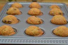 «Маффины с шоколадными чипсами» - приготовления блюда - шаг 4