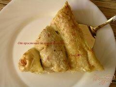 «Блинчики с творогом, запеченные в сливках, с бруснично-апельсиновым соусом» - приготовления блюда - шаг 13