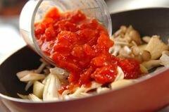«Треска с помидорами» - приготовления блюда - шаг 4
