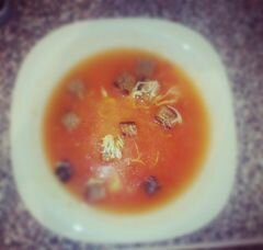 «Томатный суп-пюре» - приготовления блюда - шаг 4