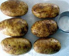 «Дважды запеченный картофель» - приготовления блюда - шаг 1