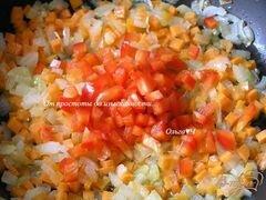 «Рисовые котлетки с овощами в кунжутной панировке» - приготовления блюда - шаг 1