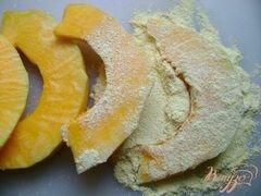 ««Бананы» из тыквы» - приготовления блюда - шаг 2