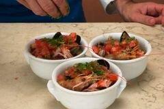«Рыбный суп с оливками» - приготовления блюда - шаг 6