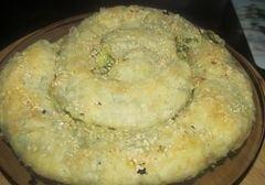 «Спанакопита -традиционный греческий пирог со шпинатом» - приготовления блюда - шаг 6