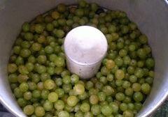 «Натуральный виноградный сок из соковарки» - приготовления блюда - шаг 3