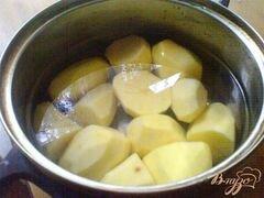 «Картофельные ватрушки с грибами» - приготовления блюда - шаг 1