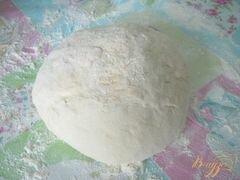 «Творожная ватрушка из теста на сыворотке» - приготовления блюда - шаг 3