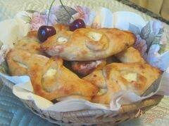 «Творожная ватрушка из теста на сыворотке» - приготовления блюда - шаг 7