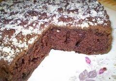 «Шоколадный пирог на кипятке» - приготовления блюда - шаг 8