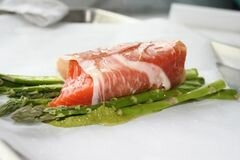 «Запеченный лосось» - приготовления блюда - шаг 4