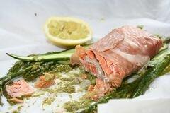 «Запеченный лосось» - приготовления блюда - шаг 7
