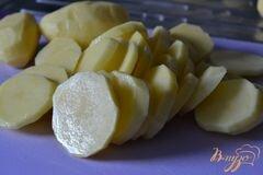 «Запеканка из картофеля со сливками» - приготовления блюда - шаг 1