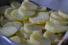 «Запеканка из картофеля со сливками» - приготовления блюда - шаг 4