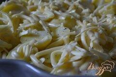 «Запеканка из картофеля со сливками» - приготовления блюда - шаг 7