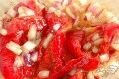 «Закусочные печеные перцы» - приготовления блюда - шаг 3