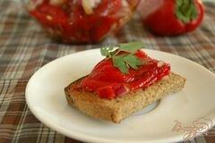«Закусочные печеные перцы» - приготовления блюда - шаг 4