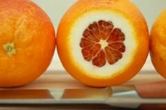 «Гранита из красного апельсина» - приготовления блюда - шаг 3