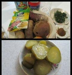 «Cвекольный салатик» - приготовления блюда - шаг 1