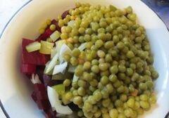 «Cвекольный салатик» - приготовления блюда - шаг 3