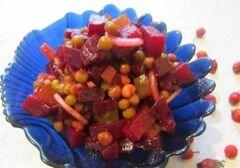 «Cвекольный салатик» - приготовления блюда - шаг 7