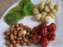 «Флорентийское печенье с макадамией» - приготовления блюда - шаг 1