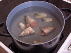 «Суп из минтая» - приготовления блюда - шаг 1