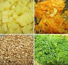 «Гречневый суп с кроликом» - приготовления блюда - шаг 1