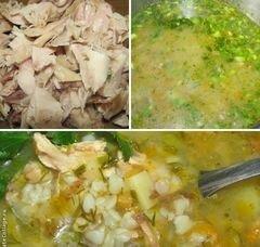 «Гречневый суп с кроликом» - приготовления блюда - шаг 2