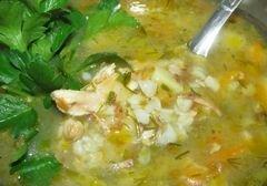«Гречневый суп с кроликом» - приготовления блюда - шаг 3