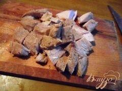 «Запеканка из макарон с индейкой в сырном соусе.» - приготовления блюда - шаг 6