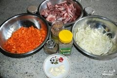 «Бараньи ребрышки жареные» - приготовления блюда - шаг 1