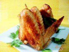 «Куриные крылышки в лимонном маринаде.» - приготовления блюда - шаг 7