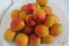 «Замороженные абрикосы» - приготовления блюда - шаг 1