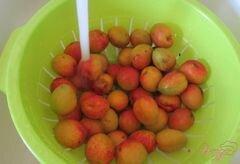 «Замороженные абрикосы» - приготовления блюда - шаг 2