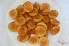 «Замороженные абрикосы» - приготовления блюда - шаг 3