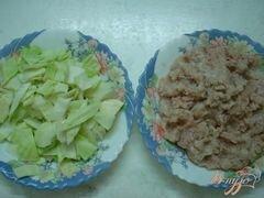 «Котлеты индюшачьи с капустой» - приготовления блюда - шаг 1