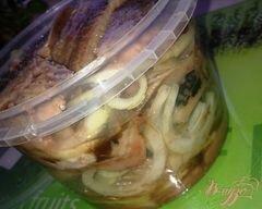 «Маринованная селедочка» - приготовления блюда - шаг 7
