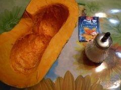 «Тыква томленная с ароматом ванили» - приготовления блюда - шаг 1