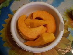 «Тыква томленная с ароматом ванили» - приготовления блюда - шаг 2