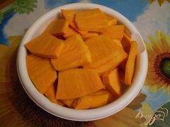 «Тыква томленная с ароматом ванили» - приготовления блюда - шаг 3