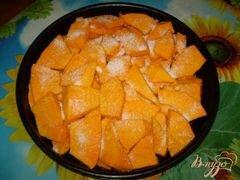 «Тыква томленная с ароматом ванили» - приготовления блюда - шаг 4