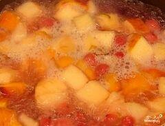 «Компот из яблок и груш» - приготовления блюда - шаг 5