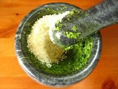 «Соус песто» - приготовления блюда - шаг 3